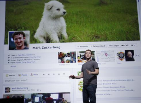 misc_facebook timeline with mark
